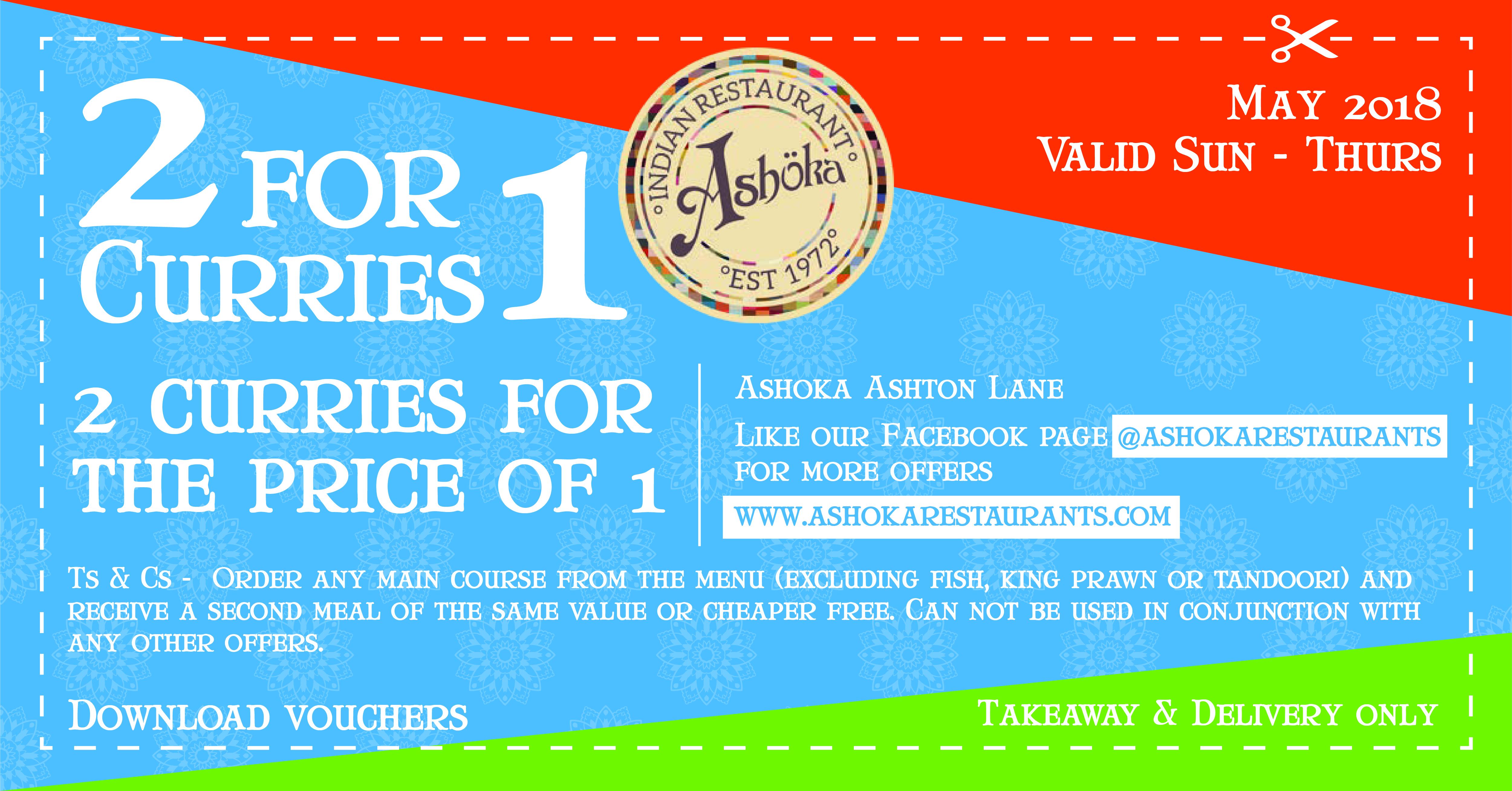Ashoka Ashton Lane coupon