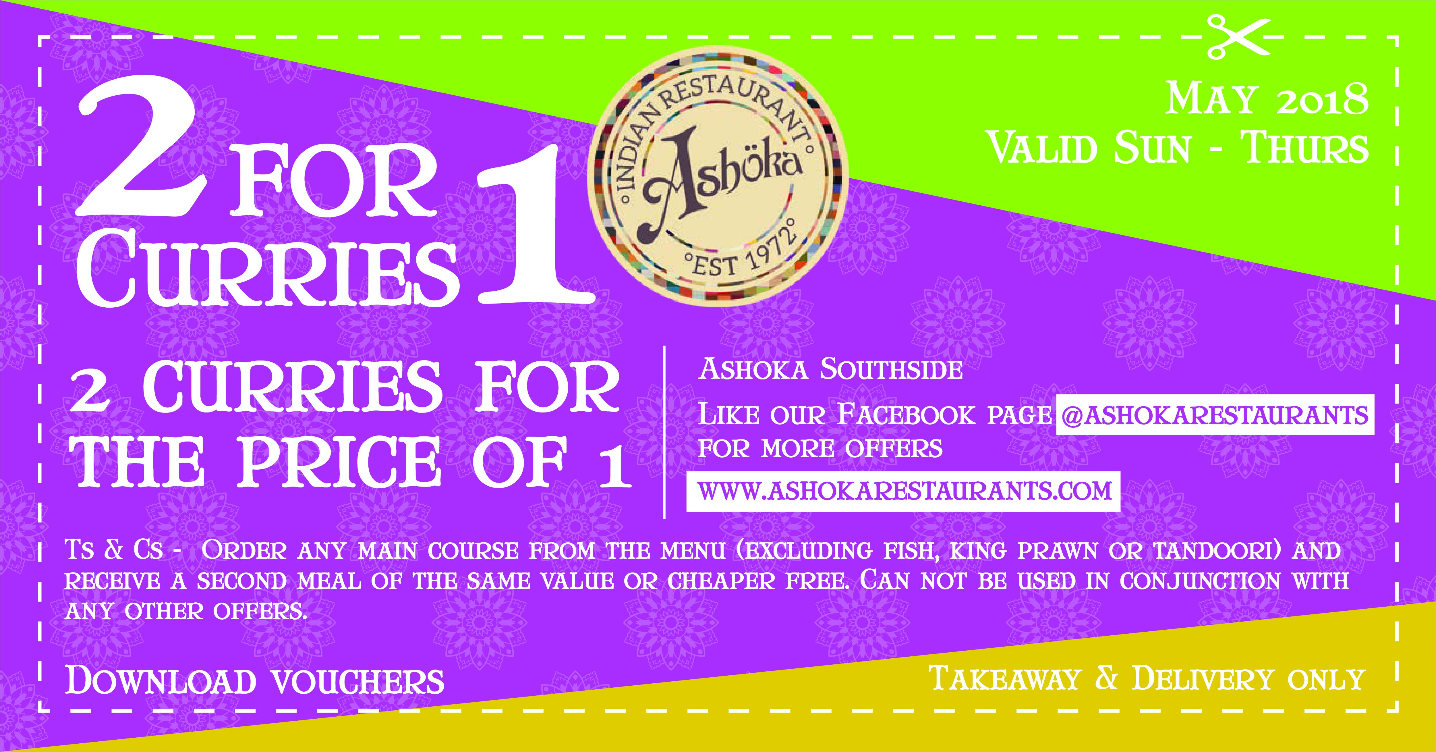 Ashoka South Side coupon
