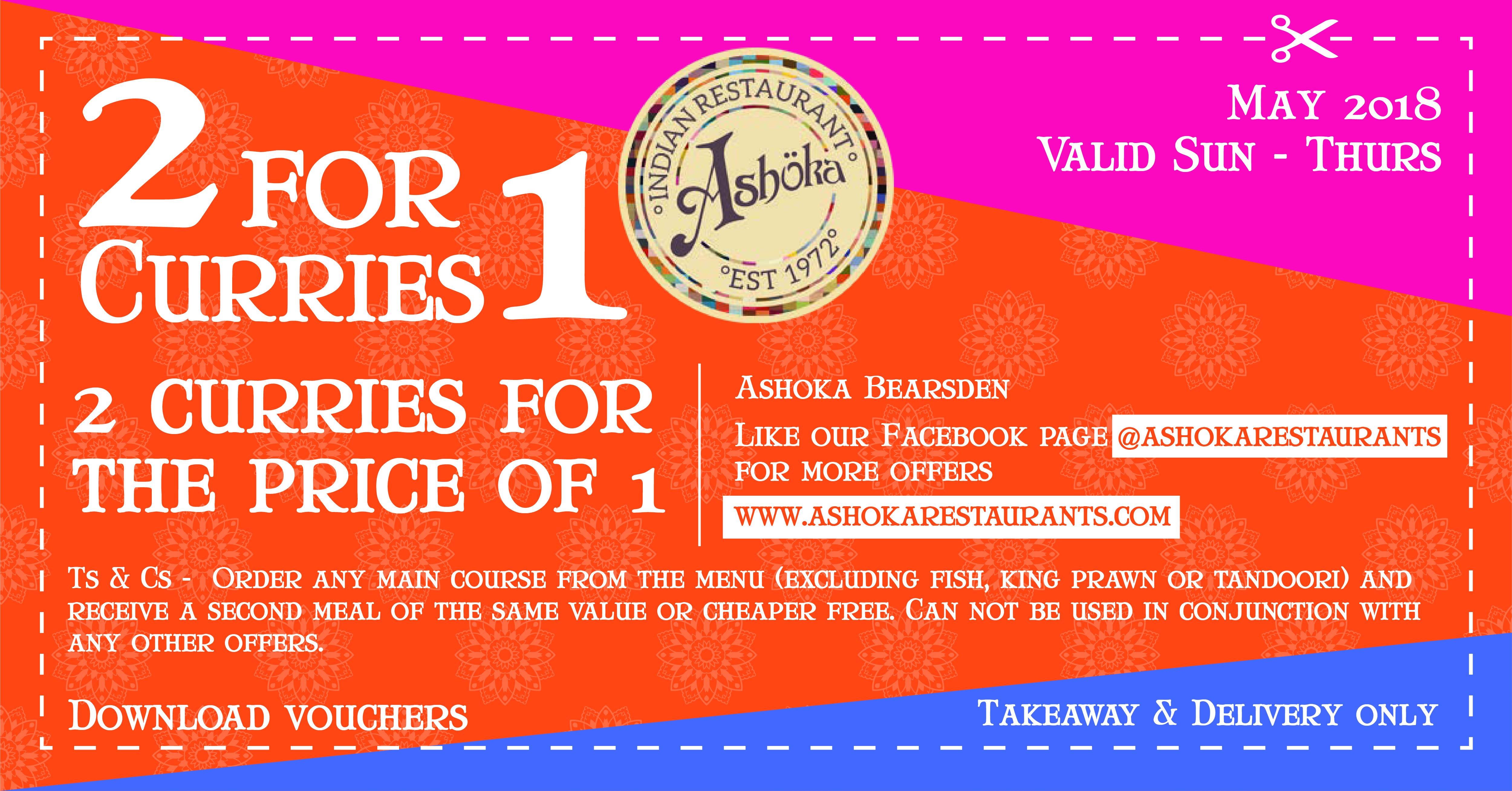 Ashoka Bearsden coupon